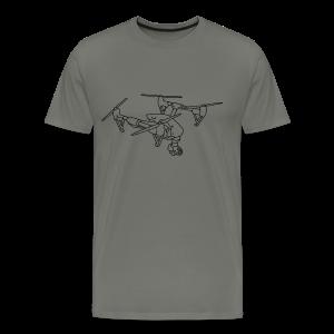 Drone (UAS) - Men's Premium T-Shirt