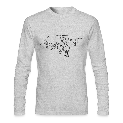 Drone (UAS) - Men's Long Sleeve T-Shirt by Next Level