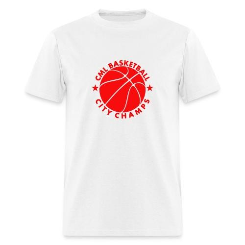 Men's CML Basketball CITY CHAMPS T-Shirt - Men's T-Shirt