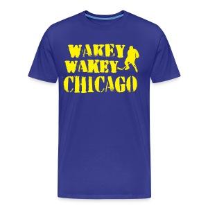 Wakey Wakey Chicago Men's Premium T-Shirt - Men's Premium T-Shirt