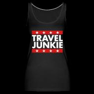 Tanks ~ Women's Premium Tank Top ~ Travel junkie