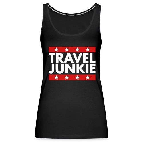 Travel junkie - Women's Premium Tank Top