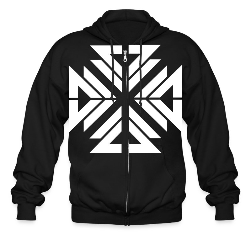 V3 - Designer / Dream The Impossible - Men's Zip Hoodie