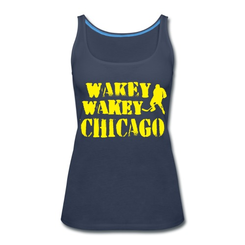 Wakey Wakey Chicago Women's Premium Tank Top - Women's Premium Tank Top