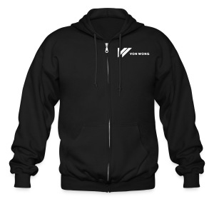 V1 - Simple Front / Dream The Impossible - Men's Zip Hoodie