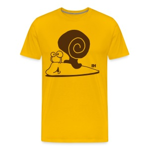 Escargot T-shirts - Men's Premium T-Shirt
