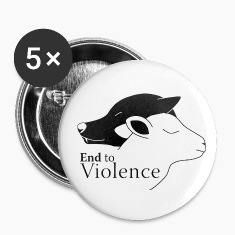 NonViolence Small Button