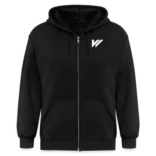 V4 - Mirror / Designer - Men's Zip Hoodie