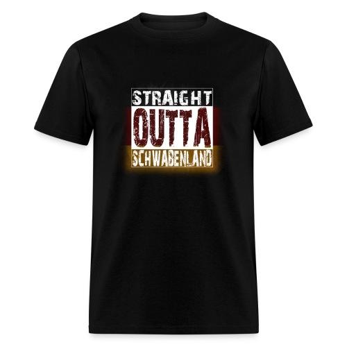Straight Outta Schwabenland (Men's Shirt) - Men's T-Shirt