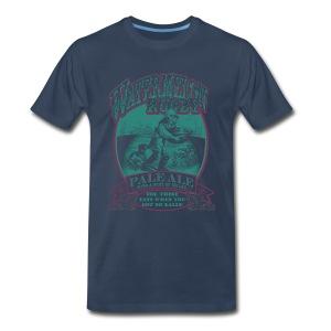 Watermelon Rugby 2-Color T-shirt - Men's Premium T-Shirt