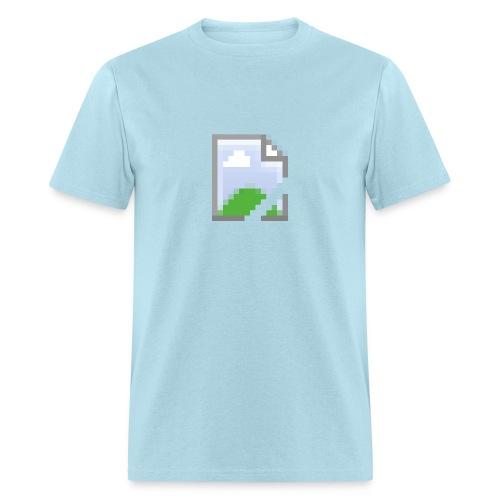 Missing Image Shirt Mens - Men's T-Shirt