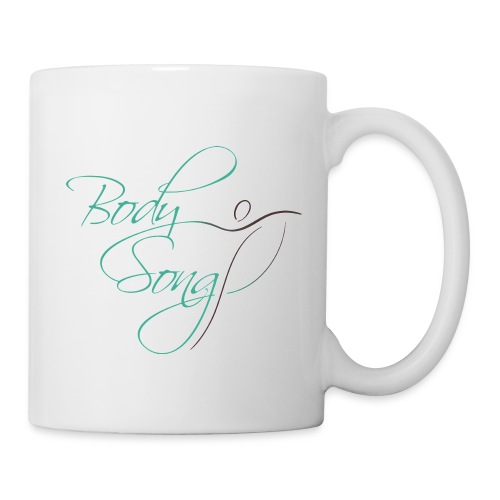 Body Song exhale Mug in white - Coffee/Tea Mug