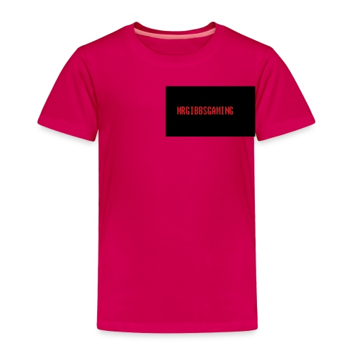mrgibbsgaming custom toddler t-shirt - Toddler Premium T-Shirt