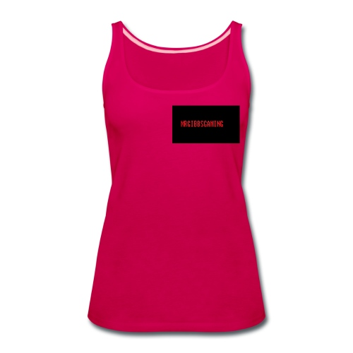 mrgibbsgaming custom womens singlet - Women's Premium Tank Top