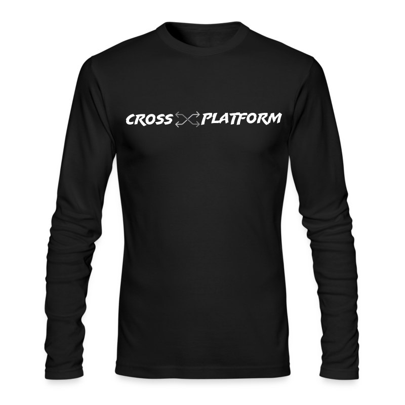 Podcast Logo2 White - Men's Long Sleeve T-Shirt by Next Level