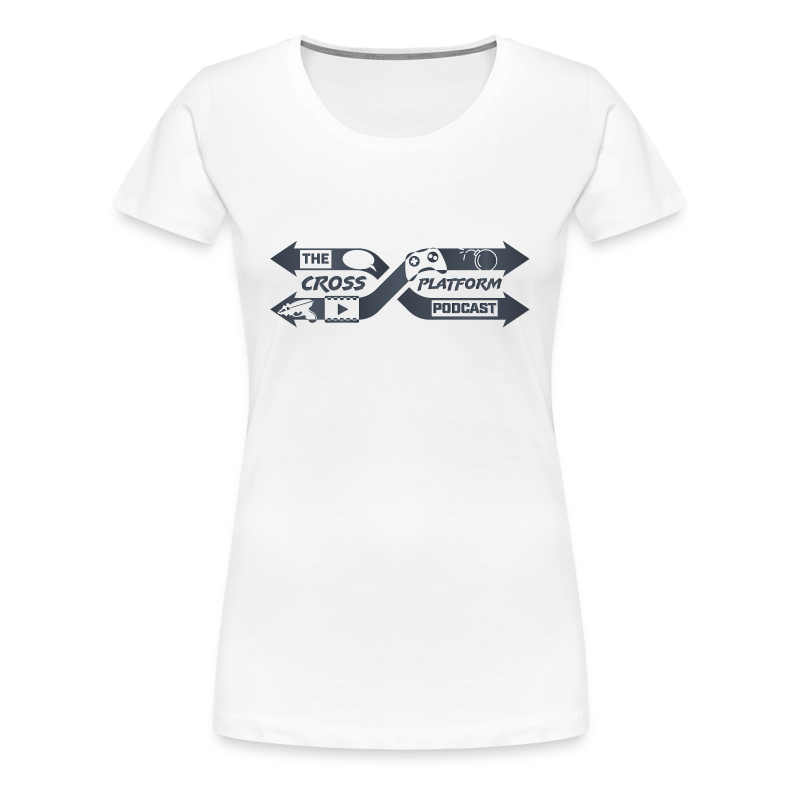 Podcast Logo Dark - Women's Premium T-Shirt