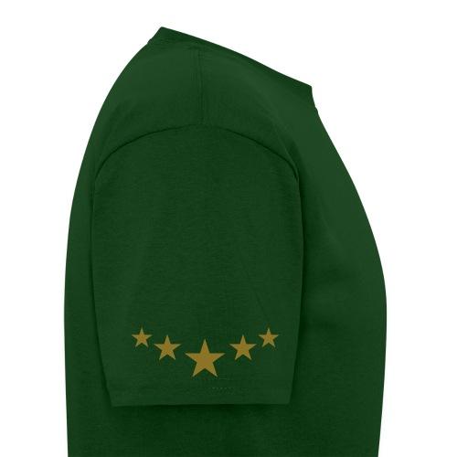 5 Star Elite T-Shirt - HUNTER GREEN/GOLD - Men's T-Shirt