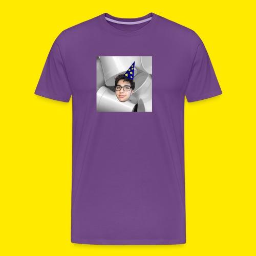 YUSBOY BOX LOGO MASON ALTMAN EDITION - Men's Premium T-Shirt