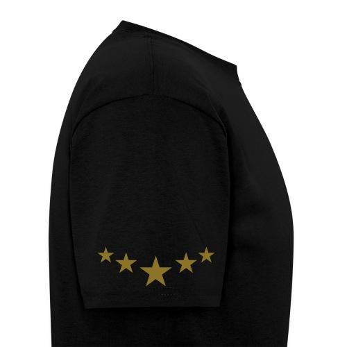 5 Star Elite T-Shirt - BLACK/GOLD - Men's T-Shirt
