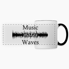 Music Makes Waves Mugs & Drinkware