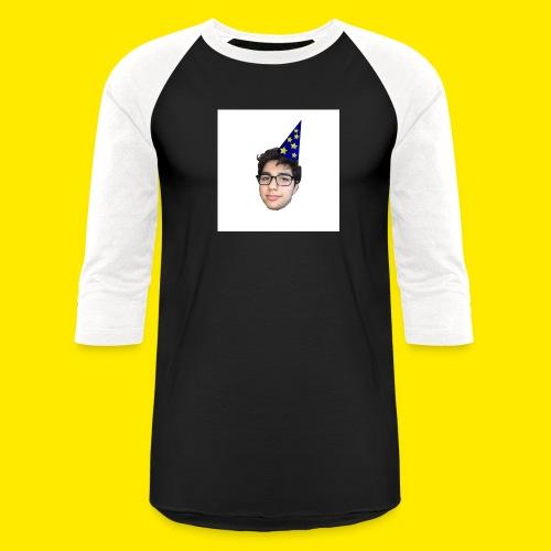 YUSBOY WHITE BOX LOGO BASEBALL TEE  - Baseball T-Shirt