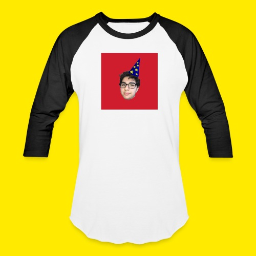 YUSBOY RED BOX LOGO BASEBALL TEE   - Baseball T-Shirt