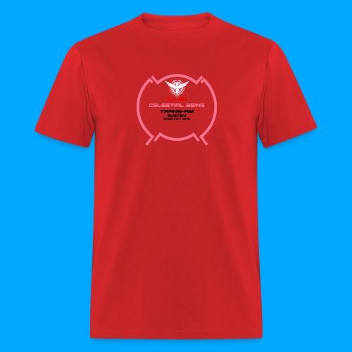 Gundam Exia Trans Am Mode Pink - Men's T-Shirt