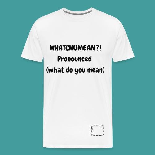 Outrage - Men's Premium T-Shirt