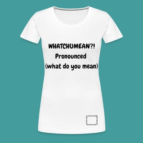 Outrage - Women's Premium T-Shirt