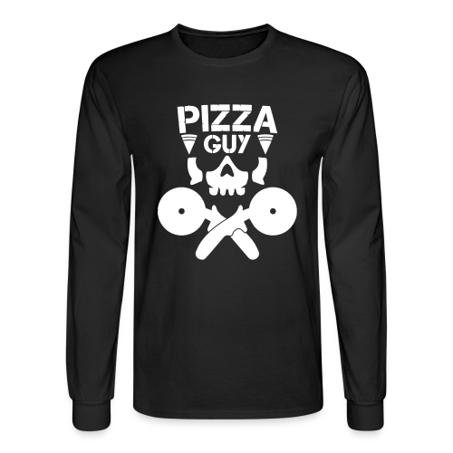 PizzaGuy Club Long Sleeve Tee - Men's Long Sleeve T-Shirt