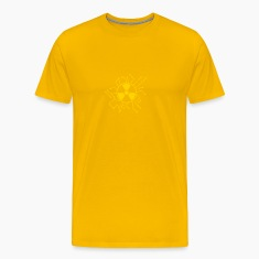 atomically atomic symbol radioactive atomic bomb f T-Shirts