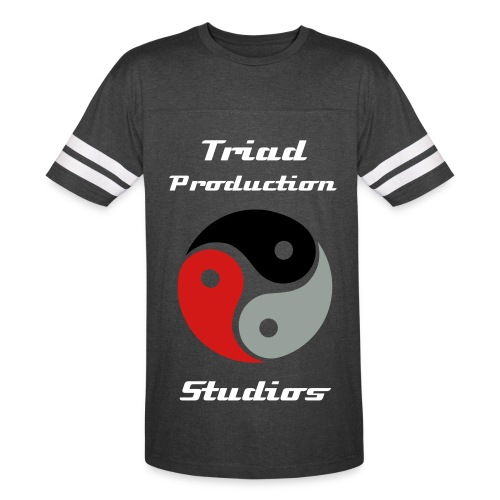 Triad Production Studios Varsity T-Shirt M - Vintage Sport T-Shirt