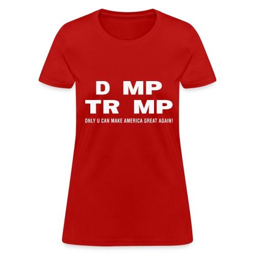 D_mp Tr_mp - Women's T-Shirt