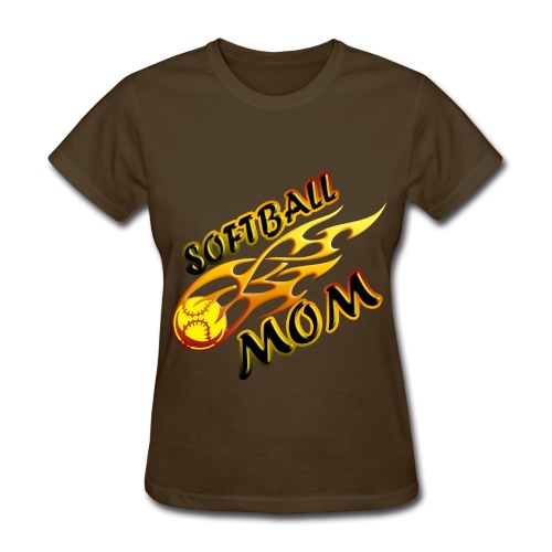 softball mom - Women's T-Shirt