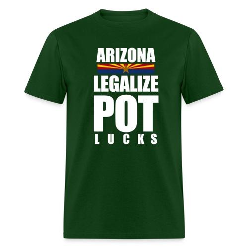 LEGALIZE POTlucks - Men's T-Shirt