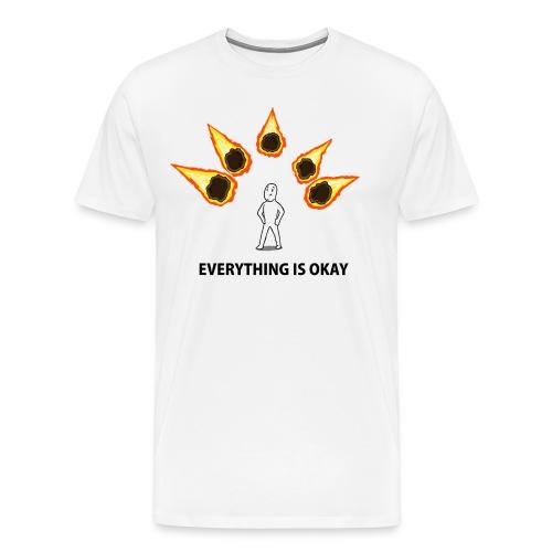 Everything is Okay - Men's Premium T-Shirt