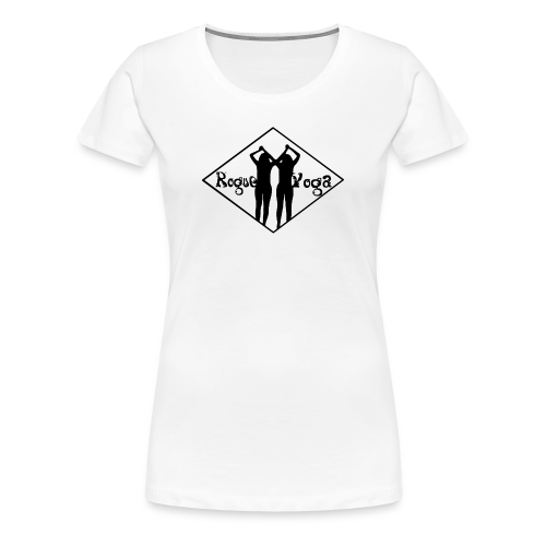 Women's Premium T-Shirt with Black Diamond Logo - Women's Premium T-Shirt