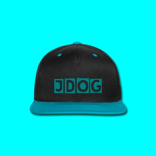 JDOG Hat Teal - Snap-back Baseball Cap