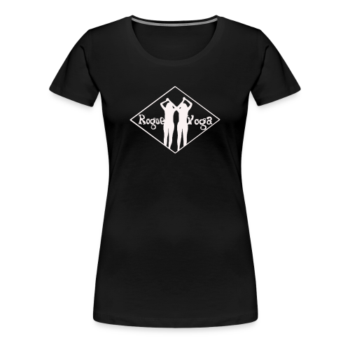 Women's Premium T-Shirt with White Diamond Logo - Women's Premium T-Shirt