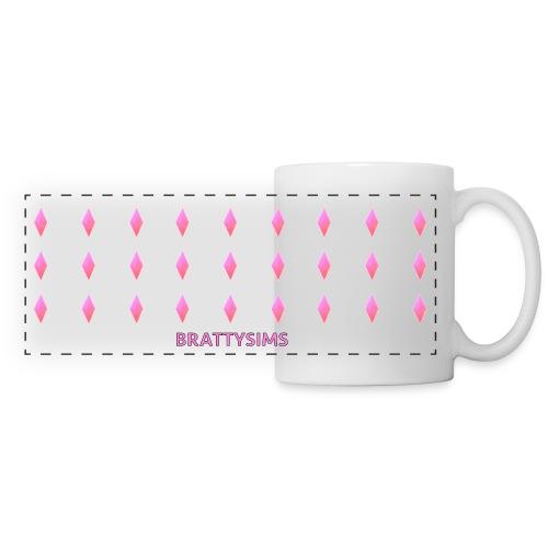 Pink Plumbob Mug - Panoramic Mug