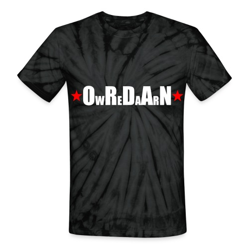 OrdanWear RedStar - Unisex Tie Dye T-Shirt