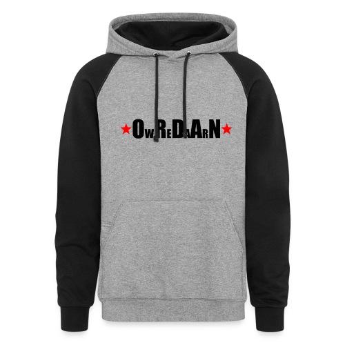 OrdanWear RedStar - Colorblock Hoodie