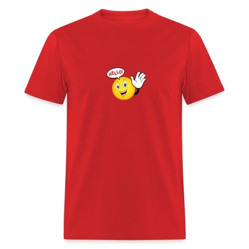 say-hello  - Men's T-Shirt