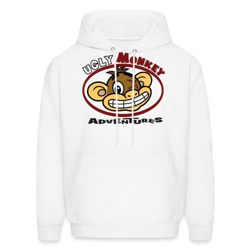 Ugly Monkey Adventures - Men's Hoodie with Head Logo - Multiple Colors  - Men's Hoodie