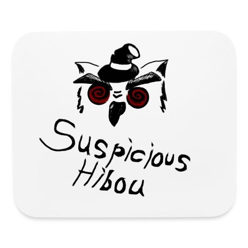 Suspicious mouse pad - Mouse pad Horizontal