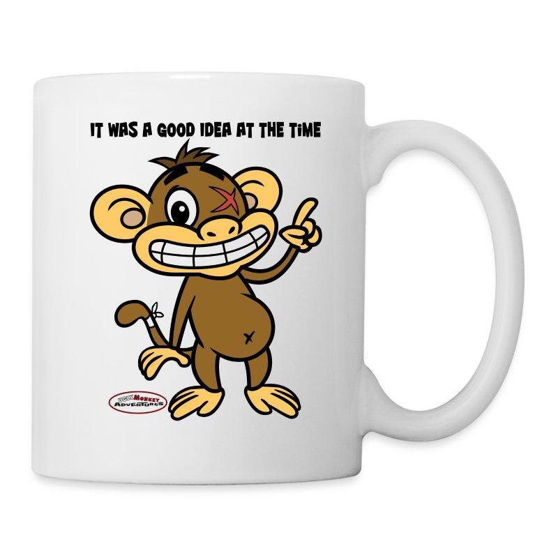 Monkey Drinking Tea