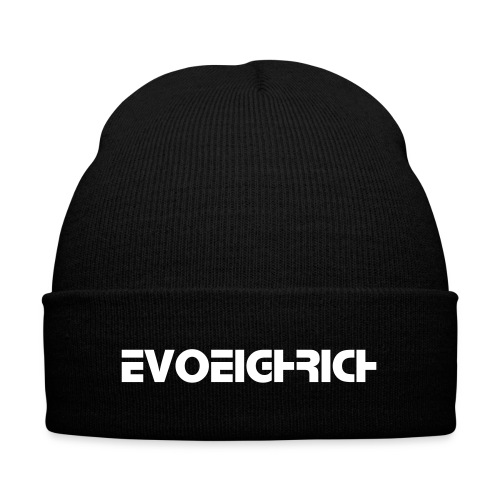 KNIT CAP WITH CUFF PRINT EVOEIGHTRICH - Knit Cap with Cuff Print