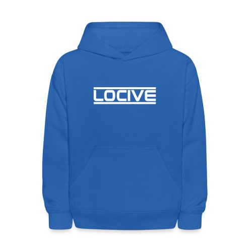 Locive Blue Hoodie - Kids' Hoodie