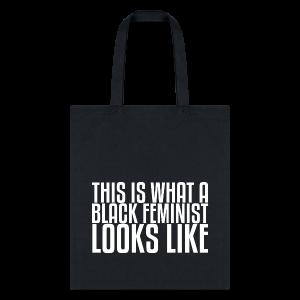 Black Feminist Tote Bag - Tote Bag