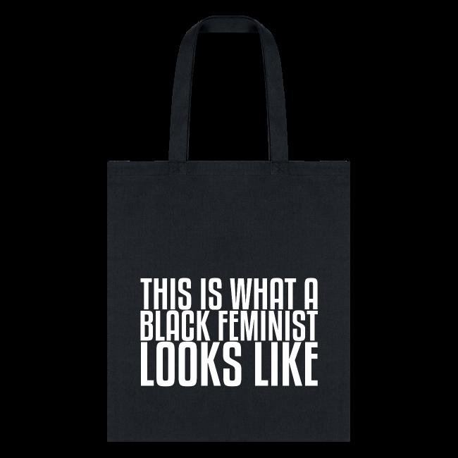 Black Feminist Tote Bag